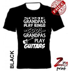 Cool Grandpas play the guitar