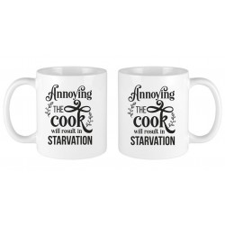 Printed Mug Annoying The Cook
