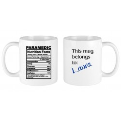 Paramedic nutritional facts...