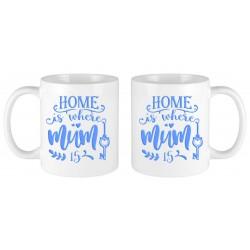 Home is where mum is mug