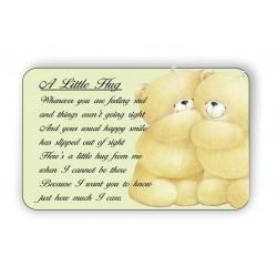 A Litle Hug Keepsake wallet...