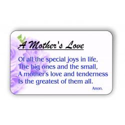 A mothers love Keepsake...