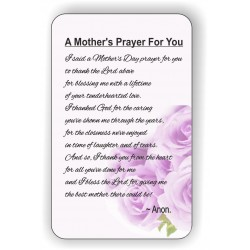 A mothers prayer for you...