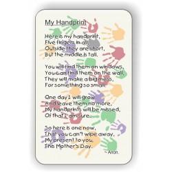 My Handprint! Keepsake...