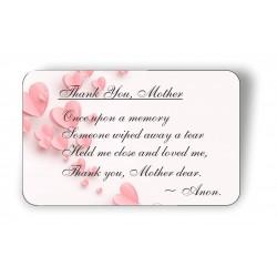 Thank you Mother Keepsake...