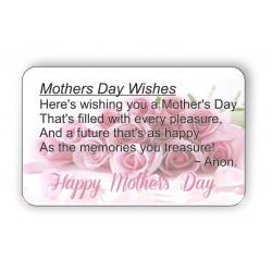 Mothers Day Wishes Keepsake...