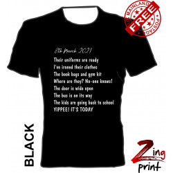 March 8th Poem tee shirt