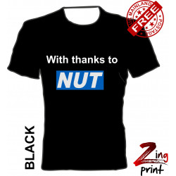 With thanks to the NUT tee...